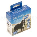 Háracie nohavičky pre psov XXL 60-70cm čierne