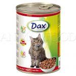 DAX Cat kúsky - hovädzie 415g