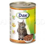 DAX Cat kúsky - hydina 415g