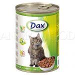 DAX Cat kúsky - králik 415g