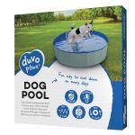 Bazén pre psa 80 x 30cm modrý