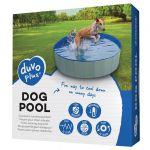Bazén pre psa 120 x 30cm modrý