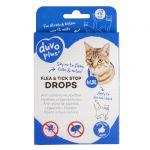 Antiparazitné pipety FLEA & TICK STOP Cat 4x1,5ml