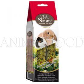Deli Nature Dwarf rabbits & guinea pigs vegetable mix 80g