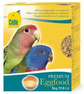 CéDé® Eggfood lovebird and neophemas 5kg