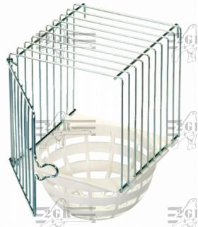 Hniezdo cisárske plast/kov Art.056